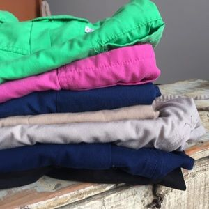 6 pairs nursing scrub bottoms..large